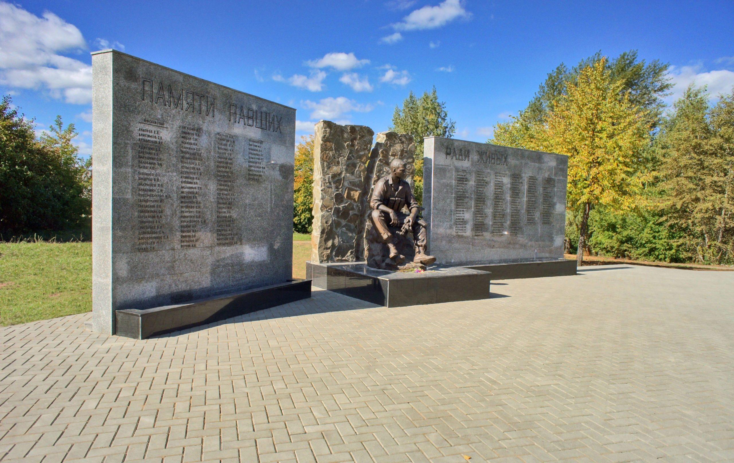 Мемориал в Ижевске